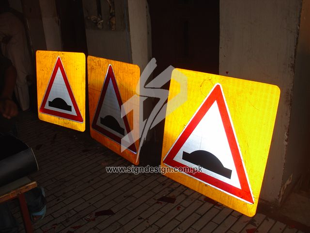DHA Traffic Signs Karachi
