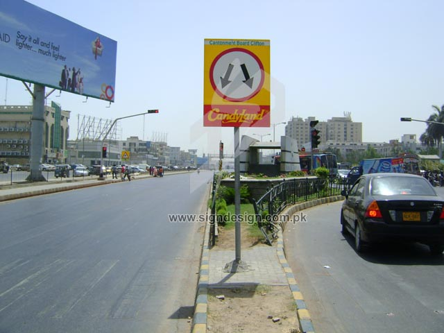 Karachi City Traffic Signs