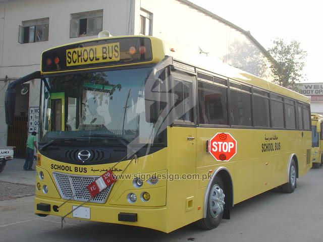 School Bus Lettering