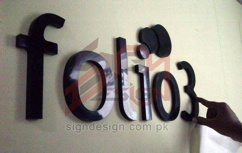 Folio3 3d Sign