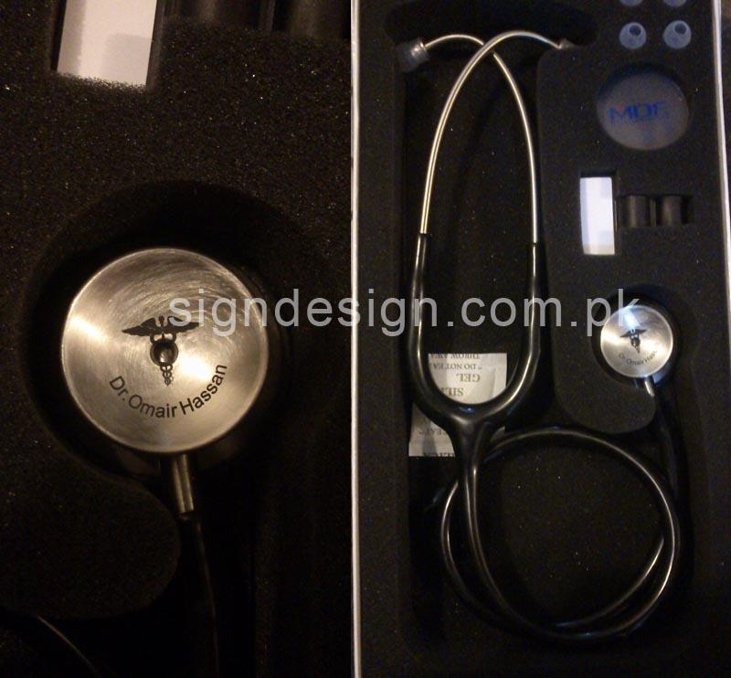 Stethoscope Laser Marking