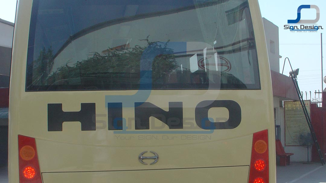 Hinopak Motors Bus Branding