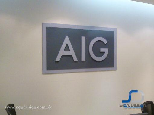 AIG Signage Karachi