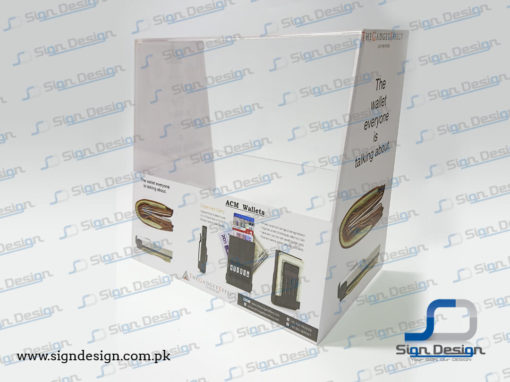 The Gadget Effect Card Holder Display Stand