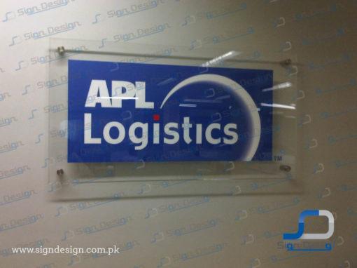 APL Logistics Signage