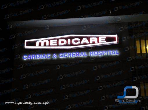 Medicare Hospital Signs