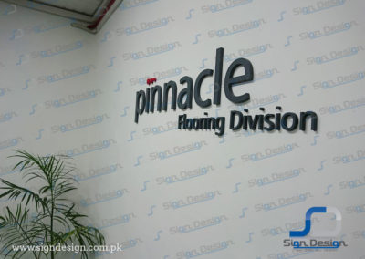 Pinnacle 3D Sign and Branding