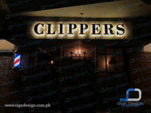 Clippers Signage Zamzama & Khadda Market